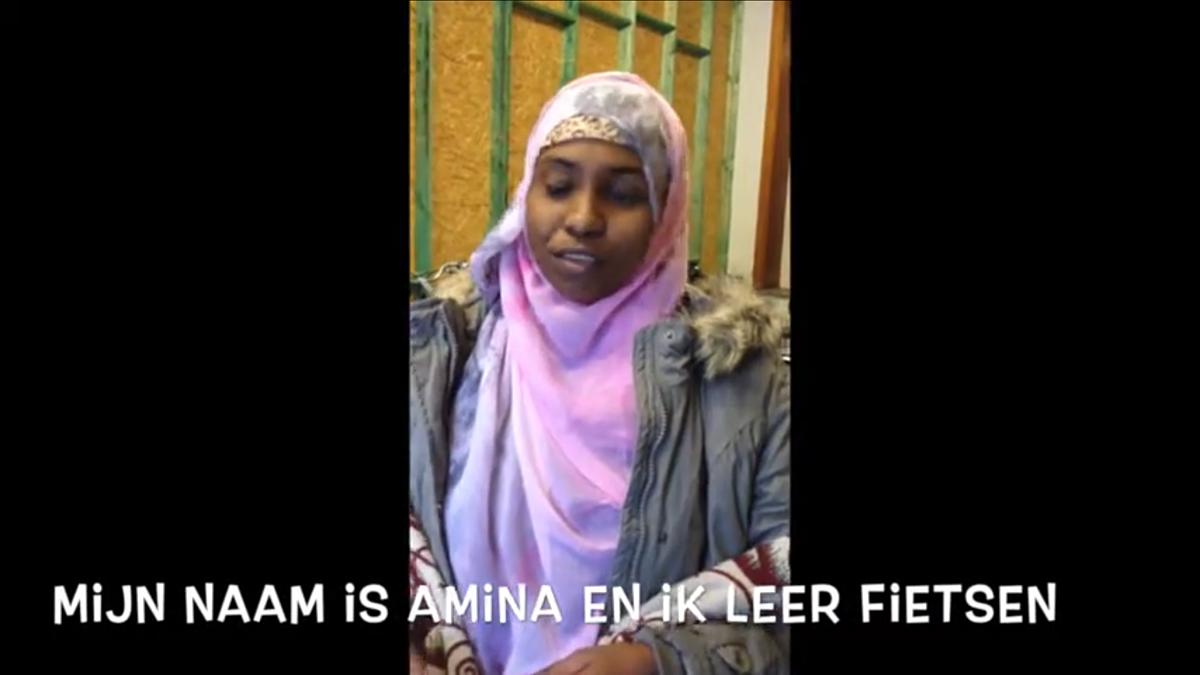 Amina vertelt